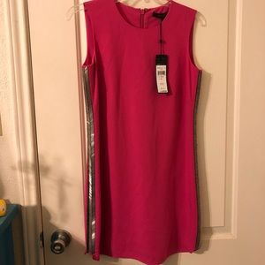 Hot Pink Shift Dress For Date Night or Event NWT